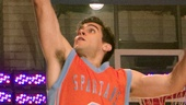 Josh Segarra as Mick in Lysistrata Jones.