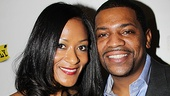 &lt;i&gt;Stick Fly&lt;/i&gt; Opening Night   Mekhi Phifer and girlfriend