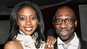 &lt;i&gt;Stick Fly&lt;/i&gt; Opening Night  Condola Rashad  Russell G. Jones