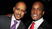 Ruben Santiago-Hudson and Kenny Leon, who worked together on Gem of the Ocean, are enjoying working together again on Stick Fly. 