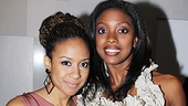 Tracie Thoms and Condola Rashad are at serious odds in Stick Fly, but the leading ladies are inseparable on the red carpet.  