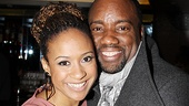 &lt;i&gt;Stick Fly&lt;/i&gt; Opening Night  Tracie Thoms  Malik Yoba 