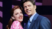 Jessie Mueller as Melinda Wells and Harry Connick Jr. as Dr. Mark Bruckner in On a Clear Day You Can See Forever.