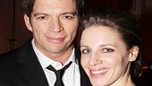 Co-stars Harry Connick Jr. and Jessie Mueller bask in the glow of opening night.