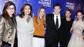 Debra Messing, Mariska Hargitay, Hilary Swank and Connick's wife, Jill Goodacre, provide star-studded support to Harry Connick Jr. and Jessie Mueller on opening night.