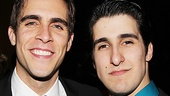 Handsome co-stars Josh Segarra and Alexander Aguilar make one dapper duo.