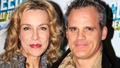 How to Succeed stars Ellen Harvey and Michael Park enjoy the big night.