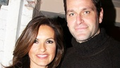 Now that Peter Hermann is no longer in War Horse, he and Mariska Hargitay can take in more Broadway shows! 