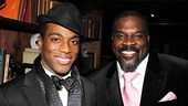 Porgy and Bess' Wilkie Ferguson III and Phillip Boykin are looking very dapper on their opening night.