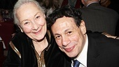 Next up for a photo with Gordon Edelstein is leading lady Rosemary Harris.