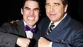 Onstage partners in crime, Darren Criss and Beau Bridges both shared an opening night on January 3. Now it's time for goodbye (and a fist bump, natch).
