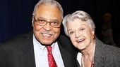 In The Best Man, James Earl Jones stars as former President Arthur Hockstader, while Angela Lansbury plays Mrs. Sue-Ellen Gamadge, chairman of the women's division.