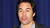Eric McCormack keeps co-stars James Earl Jones and Kerry Butler entertained.