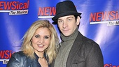 One of Broadway's favorite couples, Orfeh and Andy Karl (Jersey Boys), is ready to make headlines at the NEWSical opening.