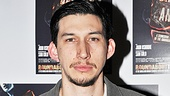 Cast member Adam Driver (Man and Boy, Mrs. Warren's Profession) is excited to return to the Roundabout Theatre Company.