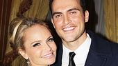 "One look at this snapshot, and you'll know why it was entirely appropriate for Cheyenne Jackson to sing ""I'm Gorgeous"" to Kristin Chenoweth."