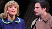 Betsy Wolfe as Beth Shepard and Colin Donnell as Franklin Shepard in Merrily We Roll Along.