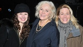 Betty Buckley is all smiles as she cozies up with title star Molly Ranson and Marin Mazzie.