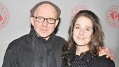 Arliss Howard, cast as the paper's Alabama-born executive editor, shares the opening night festivities with his actress wife, Debra Winger.