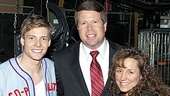 Jim Bob & Michelle Duggar Backstage at Godspell – Jim Bob Duggar – Michelle Duggar - Hunter Parrish