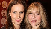 Judith Light proudly welcomes co-star Rachel Griffiths to the walls of Sardi's.