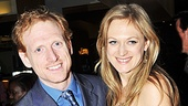 Tony nominee Marin Ireland (Reasons to Be Pretty) is proud to support her boyfriend Scott Shepherd on opening night.