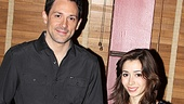 Once Meet and Greet  Steve Kazee  Cristin Milioti