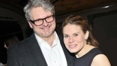 Celia Keenan-Bolger gets a squeeze from her husband, Tony-nominated Broadway vet John Ellison Conlee.