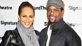 Before starring in A Streetcar Named Desire this spring, Nicole Ari Parker and Blair Underwood headed to the new Signature Center to see Hurt Village.