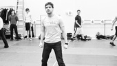 Jeremy Jordan prepares to take down 