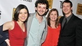 Tribes stars Susan Pourfar, Will Brill, Mare Winningham and Russell Harvard are dressed for success on opening night.