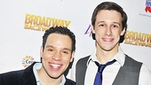 A relationship between Tony nominee Robin De Jesús and The Book of Mormon's Jason Michael Snow wove a storyline through the evening's musical numbers.