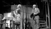 Linda Emond as Linda Loman and Philip Seymour Hoffman as Willy Loman in Death of a Salesman.