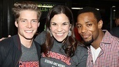Hunter Parrish, Lindsay Mendez and Wallace Smith get to eat cake and hang out with the composer of Godspell? Not bad. 