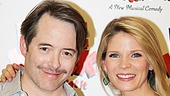 Nice Work If You Can Get It  Rehearsal  Matthew Broderick  Kelli OHara