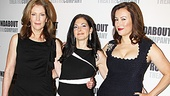 The gorgeous ladies of Don't Dress For Dinner, Patricia Kalember, Spencer Kayden and Jennifer Tilly, look stunning in black.