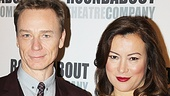 Co-stars Ben Daniels and Jennifer Tilly are dressed to the nines for the meet and greet.