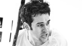 Peter and the Starcatcher Rehearsal – Adam Chanler-Berat with stick
