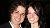Jesus Christ Superstar opening night – Josh Young and girlfriend