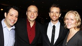 Theater vets Steve Rosen, Danny Burstein and Rebecca Luker welcome Paul Nolan into the Broadway club.