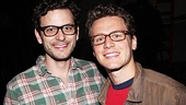 Glasses never looked so good than when they are worn by Wayne Alan Wilcox (who plays Mr. Stephens) and Jonathan Groff.