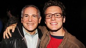 Producer extraordinaire and friend of MCC Craig Zadan is only too happy to reconnect with Jonathan Groff backstage at Carrie.