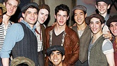 Newsies - Nick Jonas Visit – Nick Jonas - cast