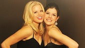It's a Wicked fun night for former Glinda and Elphaba Megan Hilty and Nicole Parker.