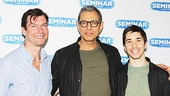 Seminar playwright Theresa Rebeck has got to be thrilled with this lineup of leading men: Jerry O'Connell, Jeff Goldblum and Justin Long.