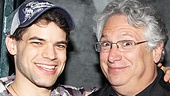 Jeremy Jordan is happy to bring the words of Newsies book writer Harvey Fierstein to life!