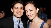 Melissa van der Schyff is thrilled to reunite with her former Bonnie and Clyde co-star Jeremy Jordan on opening night.