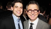 Jeremy Jordan and Thomas Schumacher are thrilled that Newsies is officially on Broadway.