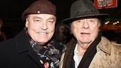Other Desert Cities star Stacy Keach and Broadway vet Harris Yulin are wearing their best rain hats.