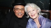 Looking good! The Great White Hope alums James Earl Jones and Jane Alexander catch up at the after party.